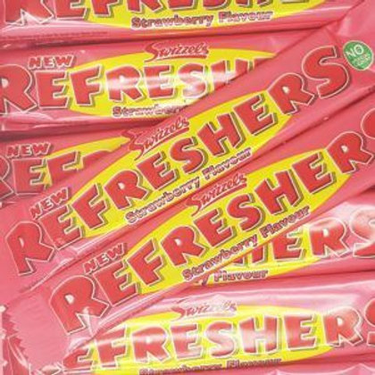 Swizzels Refreshers Strawberry Chew Bars 18g X10