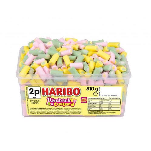 Haribo Rhubarb & Custard  Tub
