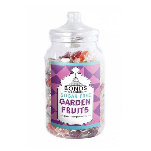Bonds Sugar Free Garden Fruits Boiled Sweets Jar 2kg
