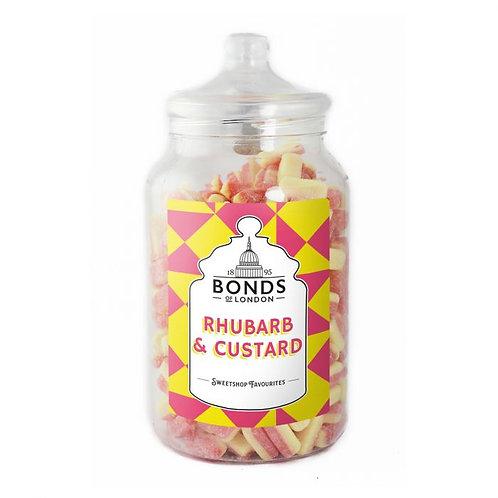 Bonds Rhubarb & Custard Jar 2.5kg