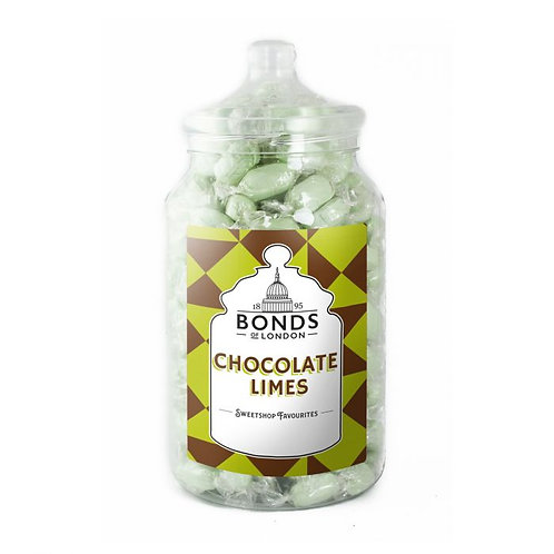 Bonds Chocolate Limes Jar 1.7kg