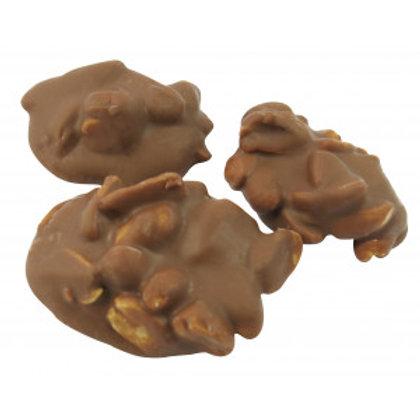 KINGSWAY MILK CHOCOLATE &PEANUT CLUSTERS