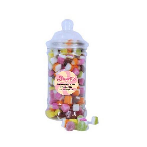 Dolly mixture sweet jars