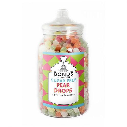 Bonds Sugar Free Pear Drops Jar 2kg