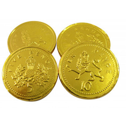 KINGSWAY GOLD MILK CHOCOLATE COINS