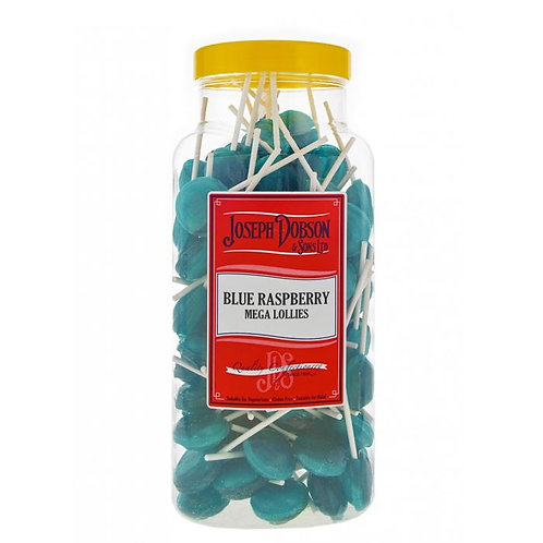 Dobsons Blue Raspberry Mega Lollies