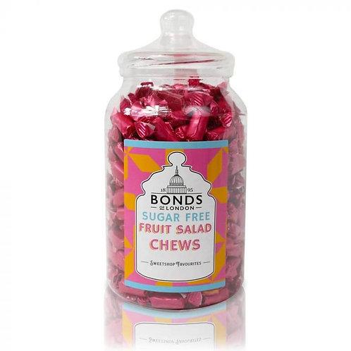 Bonds Sugar Free Fruit Salad Chews Jar 1.5kg