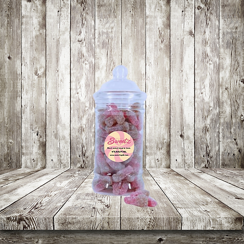 Fizzy cherry cola bottle sweet jars