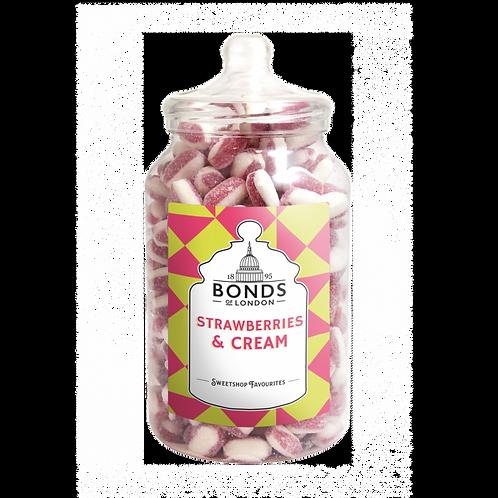Bonds Strawberries & Cream Jar 2.5kg