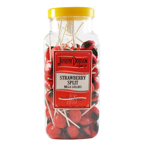 Dobsons Strawberry Split Mega Lollies