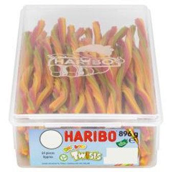 Haribo Rainbow Twists Tub 896g