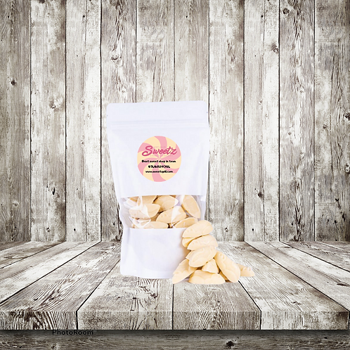 White chocolate mice pouch