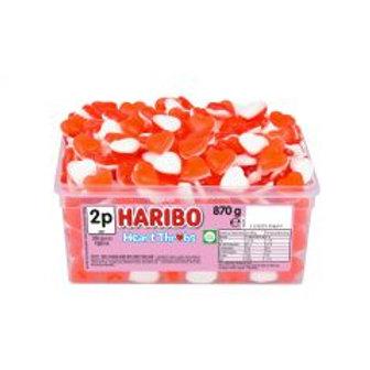 Haribo Heart Throbs Tub 870g