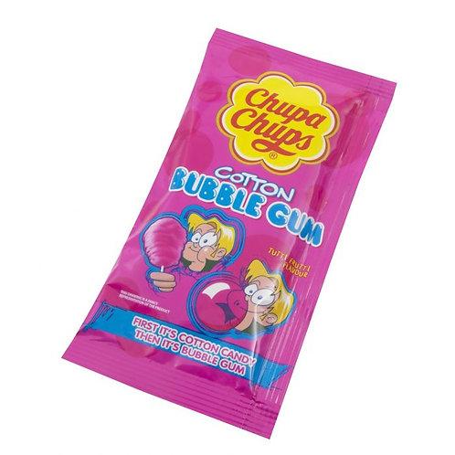 Chupa Chups Cotton Candy Bubble Gum X2
