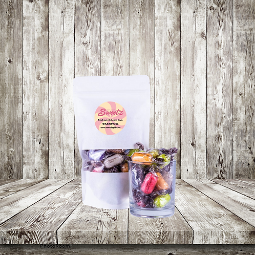 Chocolate Fruits Pouch