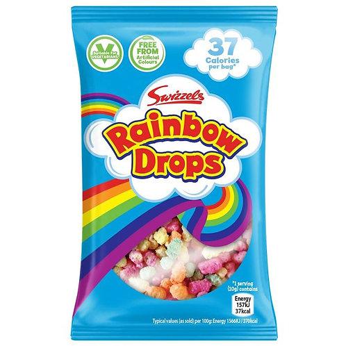 Swizzels Rainbow Drops Mini 10p Bags x10