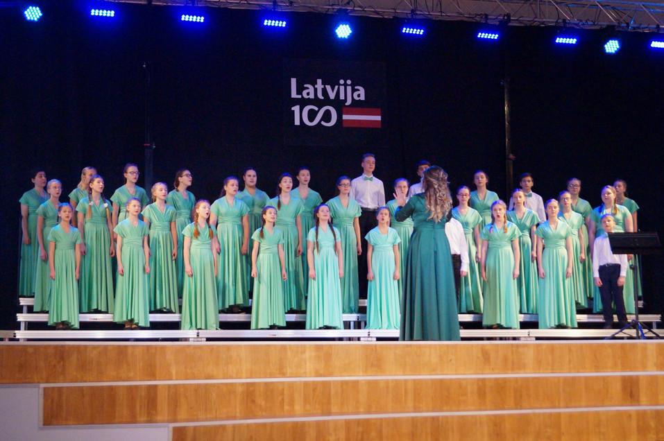 На конкурсе духовной музыки в Латвии