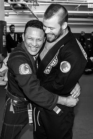 Renzo Gracie and Max McGarr (photo by Alberto Vasari)