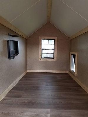 inside of doghouse