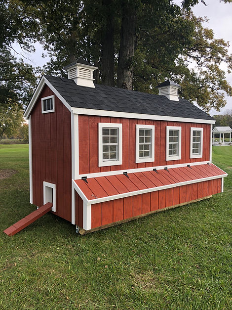 Dakota chicken coop