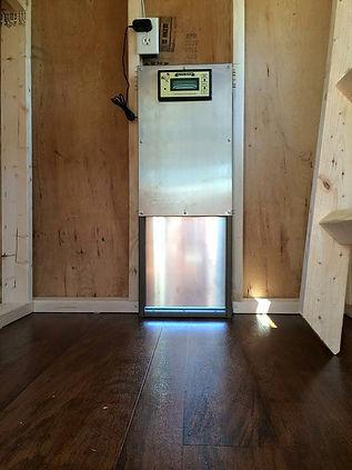 electric chicken door