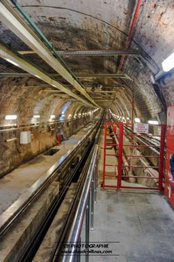 Funiculaire Tunel yasinda
