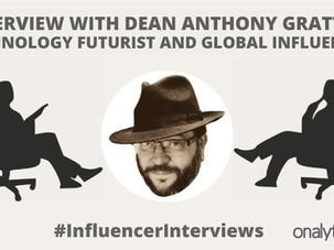 Onalytica Influencer Interview with Dean Anthony Gratton