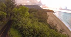 Kauai Road to Sunset