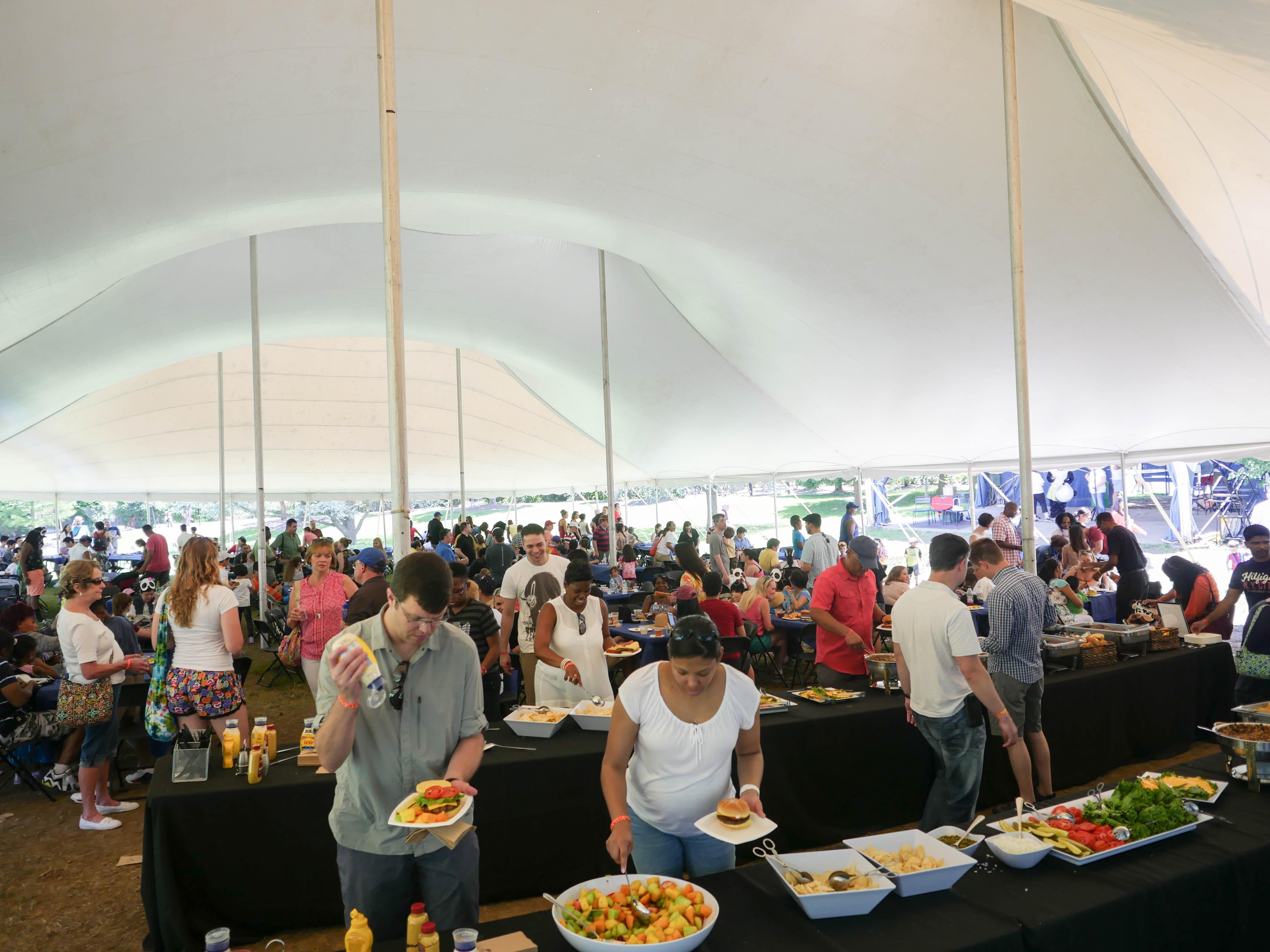 Tent Buffet