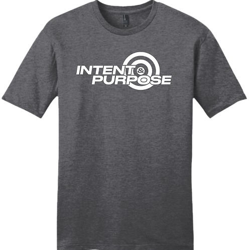 Intent and Purpose - Charcoal Gray
