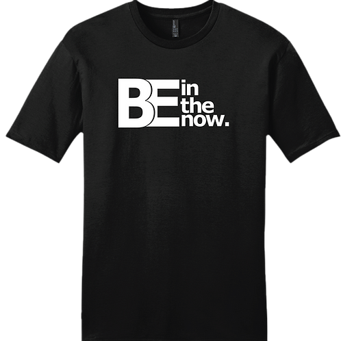 Be In The Now T-Shirt - Black