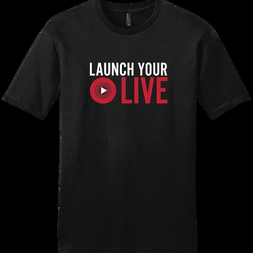 Launch Your Live  T-Shirt - Black