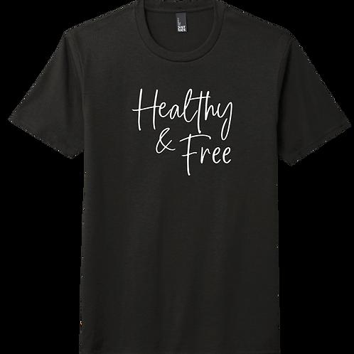Healthy & Free T-Shirt - Black