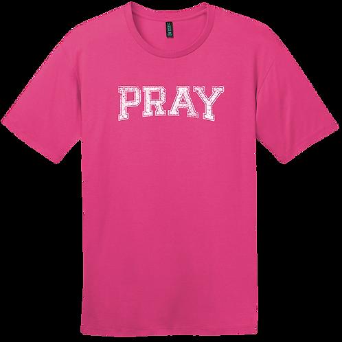 PRAY Shirt - Fuchsia