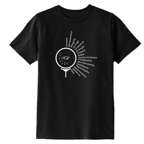 Future Golf Pros Affirmation Youth T-Shirt