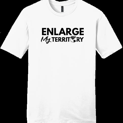 Enlarge My Territory - White