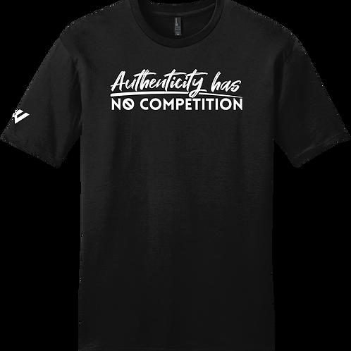 Authenticity Has No Competition T-Shirt - Black