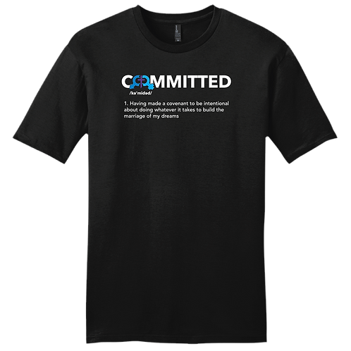 Committed | T-Shirt - Black