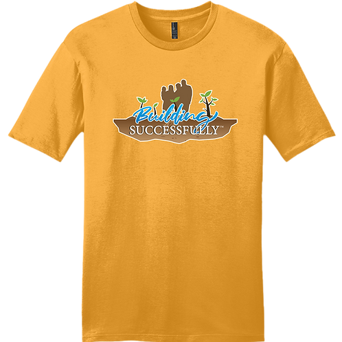 Building Successfully T-Shirt - Gold