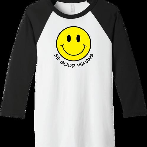 Be Good Humans T-Shirt - White/ Black