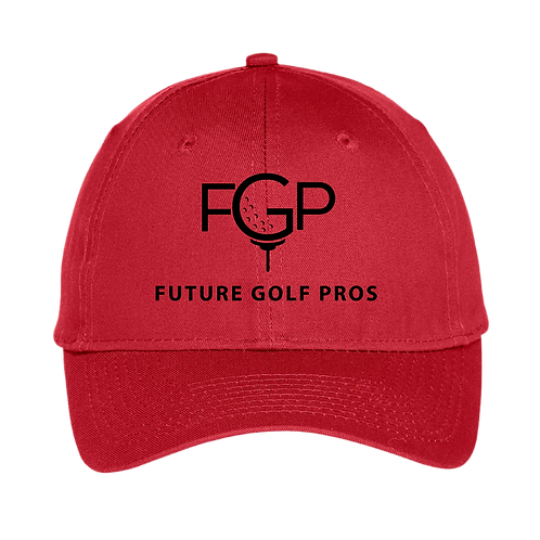 Future Golf Pros Six-Panel Unstructured Youth Twill Cap