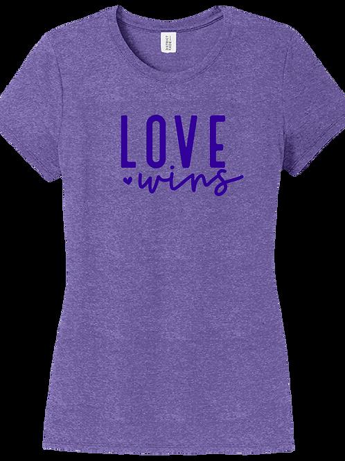 Love Wins - J. Nicole Collection - Female Purple Frost