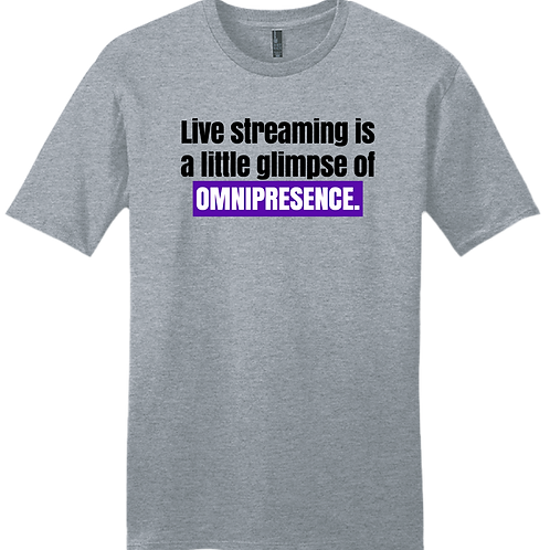 Omnipresence T-Shirt - Grey Frost