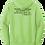 Thumbnail: Mandarin Christian Home Schoolers Fleece Hoodie - Lime