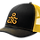 Thumbnail: CTY Logo Snapback Trucker Hat - Black/ Gold