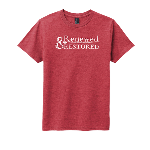 Renewed and Restored - Youth Heather Red