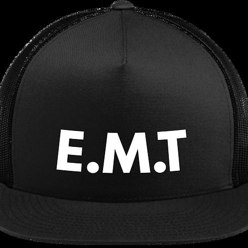 E.M.T Snapback Trucker Hat - Black