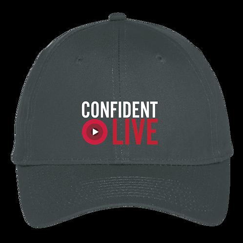 Confident Live - Trucker Hat - Black
