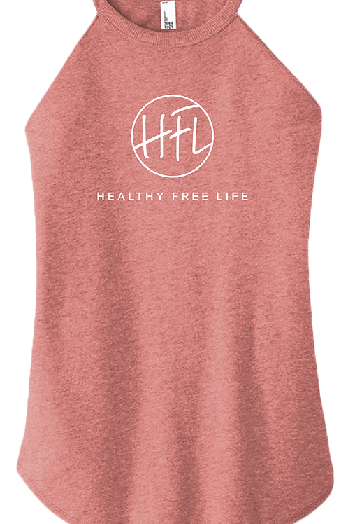 Healthy Free Life - Ladies Tank - Blush Frost