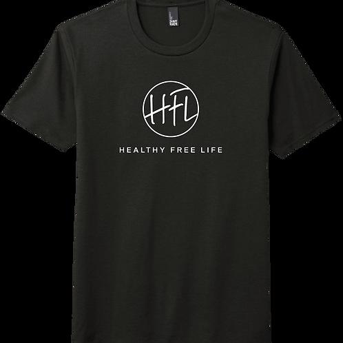 Healthy Free Life T-Shirt - Black